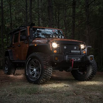 Rugged Ridge® - White LED Rock Light Kit