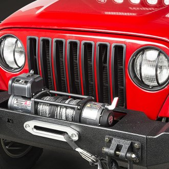 Rugged Ridge® - Black Main Grille Frame Inserts