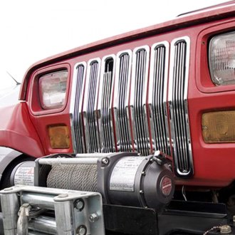 Rugged Ridge® - 7-Pc Chrome Billet Main Grille