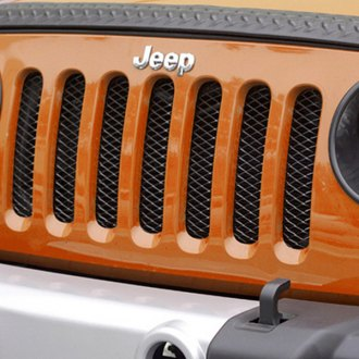 Rugged Ridge® - Gloss Black Mesh Main Grille