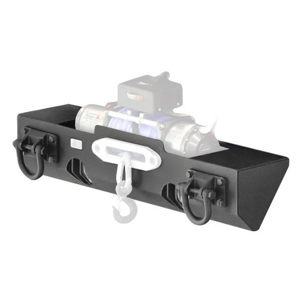 Rugged Ridge®   XHD Stubby Front HD Black Bumper