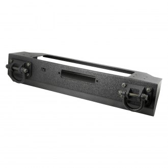 Rugged Ridge® - XHD Stubby Black Front Winch Modular Bumper