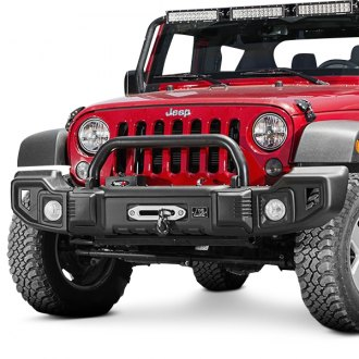 Rugged Ridge® - Spartacus Full Width Front Winch HD Bumper with Hoop