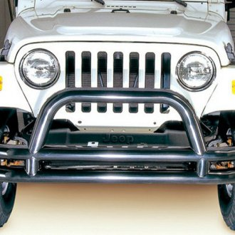 "Rugged Ridge® - 3"" Full Width Front Tubular Bumper with Hoop"