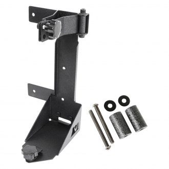 Rugged Ridge® - Off-Road Jack Black Mounting Bracket Kit