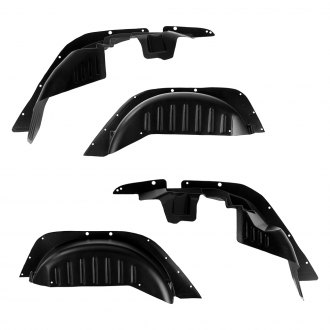 Rugged Ridge® - Gen 2 Front and Rear All-Terrain Fender Liner Kit