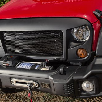 Rugged Ridge® - Black Spartan Grille