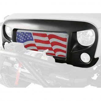 Rugged Ridge® - Spartan American Flag Grille Kit