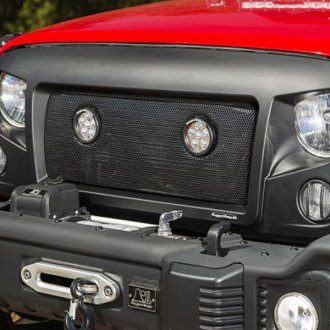 Rugged Ridge® - Spartan Round LED Grille Insert Kit