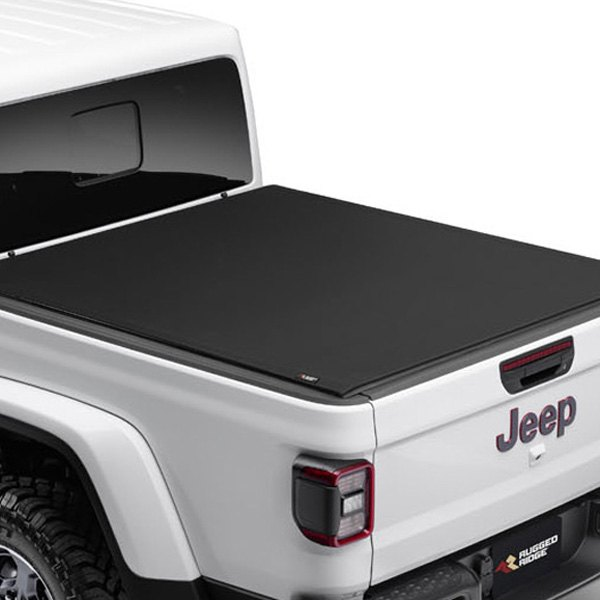 Rugged Ridge Jeep Gladiator 5 60 3 Bed With Trail Rail Cargo System 2020 Armis Hard Rolling Bed Cover