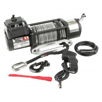 Rugged Ridge® - 8500 lbs Spartacus Performance Winch with Synthetic Rope