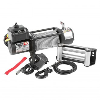 Rugged Ridge® - Spartacus HD Series Winch with Steel Cable