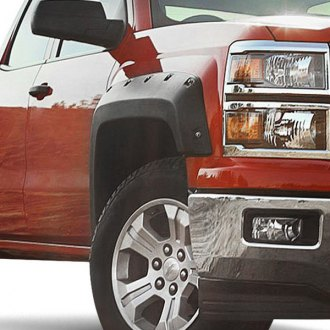Rugged Ridge® - All Terrain Black Front and Rear Fender Flares Kit