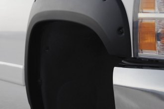 Image may not reflect your exact vehicle! Rugged Ridge® - All Terrain Black Rear Passenger Side Fender Flare