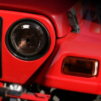 Rugged Ridge® - Smoke Headlight and Turn Signal Blackouts