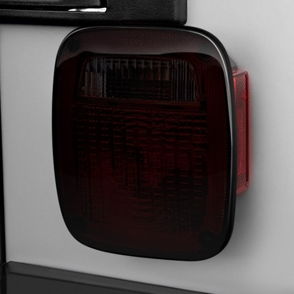 Rugged Ridge® - Smoke Tail Light Blackouts