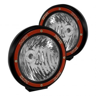 Rugged Ridge® - HID (Xenon) Fog Light Kit with Red Bezel