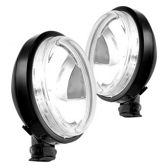 "Rugged Ridge® - 6"" Round Slim Fog Light Kit"