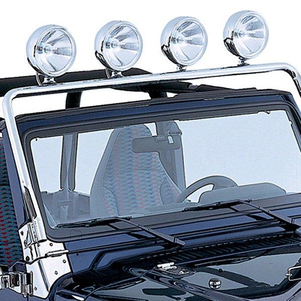 rugged ridge jeep wrangler 1997 2006 windshield frame. Black Bedroom Furniture Sets. Home Design Ideas