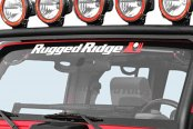 Rugged Ridge® - Jeep Wrangler 2007-2013 Windshield Frame Light Bar - Textured Black