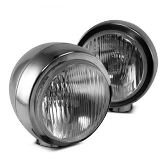 Rugged Ridge® - Stainless Steel HID Off-Road Fog Lights Kit, Two Lights