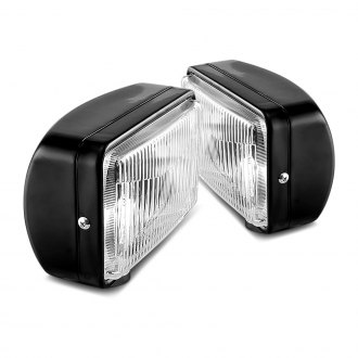 Rugged Ridge® - Rectangle Halogen Fog Lights Kit