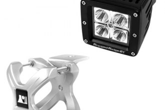 Rugged Ridge® - Silver X-Clamp and LED Kit