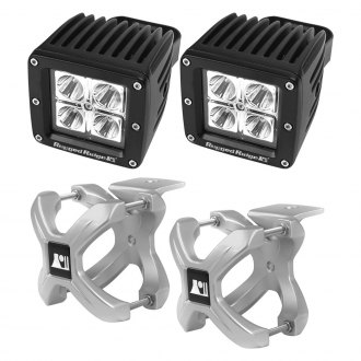 Rugged Ridge® - X-Clamp and Square LED Kit
