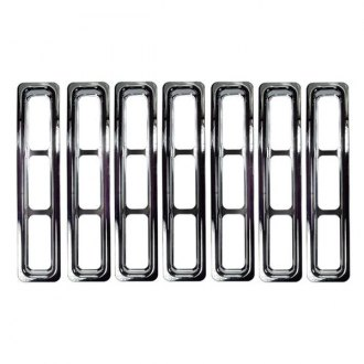 Rugged Ridge® - Grille Inserts, Chrome
