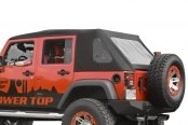 Rugged Ridge® - Power Top™ Convertible Roof System - Roof Up