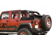 Rugged Ridge® - Power Top™ Convertible Roof System - Roof Down