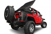 Rugged Ridge® - Power Top™ Convertible Roof System - Operating