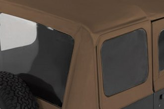 Rugged Ridge® - Factory Replacement Soft Top With Door Skins