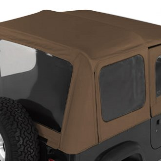 Rugged Ridge® - XHD Soft Top With Door Skins