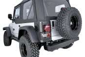 Rugged Ridge® - XHD Soft Top, with Door Skins, with Tinted Windows, Diamond Black