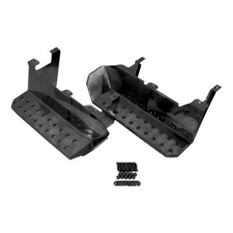 Rugged Ridge® - Replacement Black Factory Side Steps
