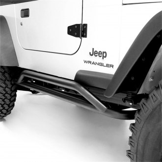 Rugged Ridge® - RRC Black Rocker Guards