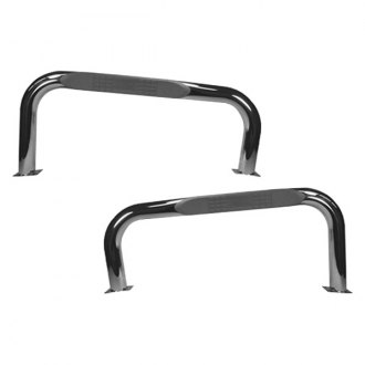 "Rugged Ridge® - 3"" Wheel-to-Wheel Polished Round Tube Bars"