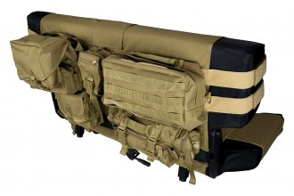 Rugged Ridge® - Rear Tan Cargo Seat Cover