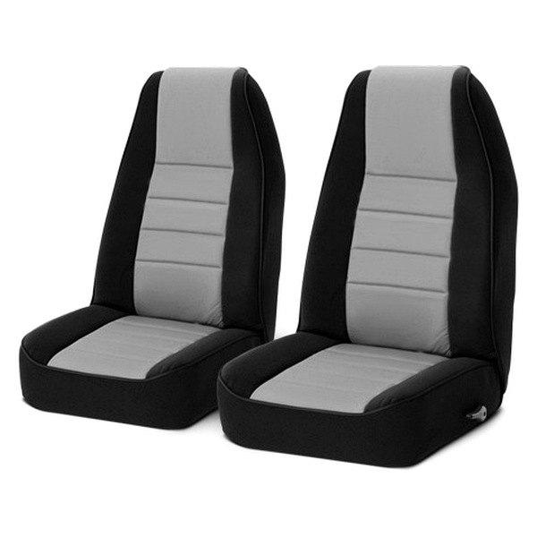 Rugged Ridge®   Neoprene 1st Row Black/Gray Seat Covers