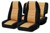 Image may not reflect your exact vehicle! Rugged Ridge® - Neoprene Seat Covers