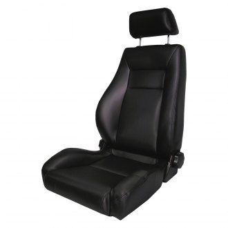 Rugged Ridge® - Super Seat, with Recliner, Black Denim
