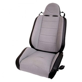 Rugged Ridge® - RRC Race Seat, with Recliner, Gray/Black
