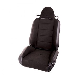 Rugged Ridge® - RRC Race Seat, with Recliner, Black