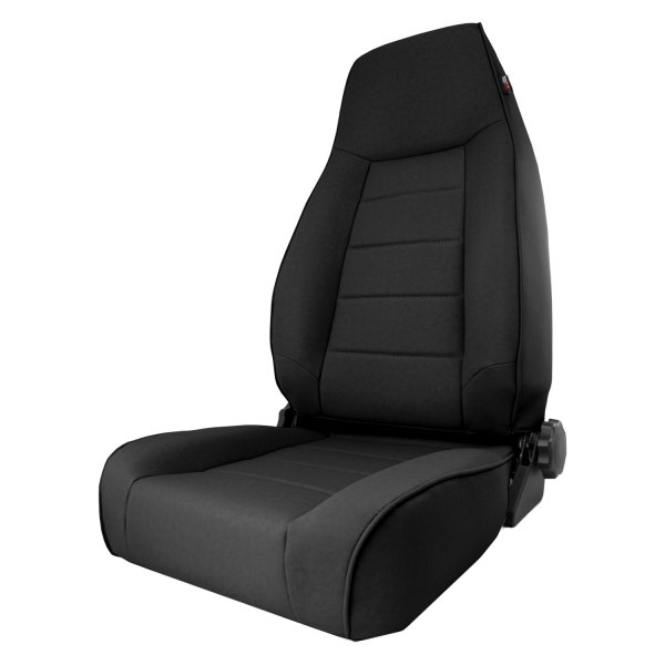 Rugged Ridge® - XHD Front Seat, with Recliner, Black Denim
