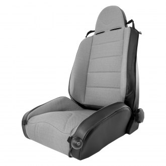 Rugged Ridge® - XHD Off Road Front Seat, Black With Gray Insert