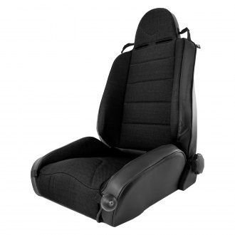 Rugged Ridge® - XHD Off Road Front Seat, Black With Black Insert