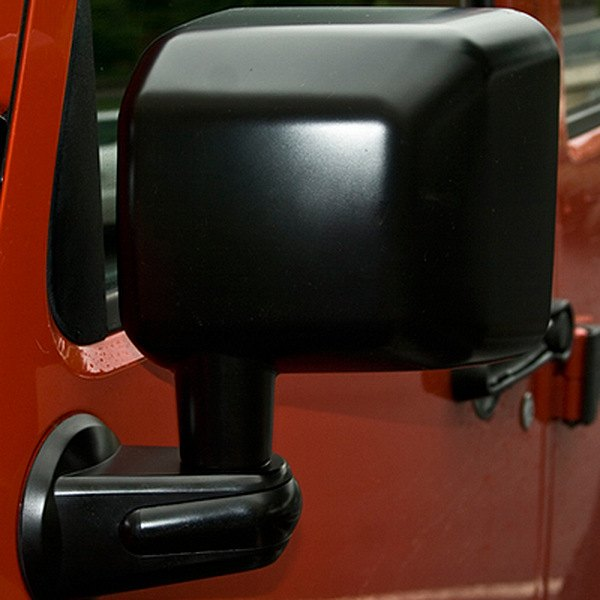 Rugged Ridge® - Driver Side Black Mirror
