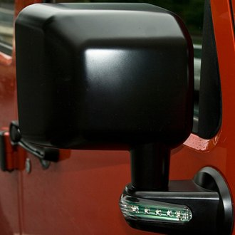 Rugged Ridge® - Passenger Side Black Mirror (with LED Turn Signal)