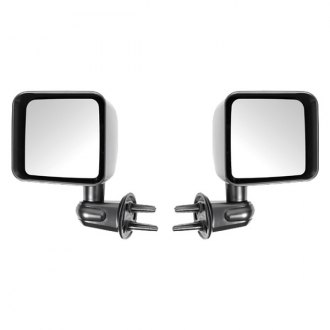 Rugged Ridge® - Black Mirrors (w/o LED Turn Signal)